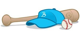 Baseballausrüstung Lizenzfreie Stockfotos