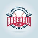Baseballausweis-Sportlogo Stockfotos