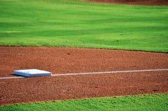 Baseballbasis Stockbild