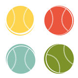 Baseballboll Arkivfoton