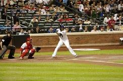 baseballcarlos jose reyes ruiz Royaltyfri Foto