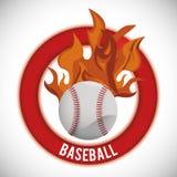 Baseballdesign Royaltyfria Bilder