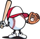 Baseballer Illustration Stock