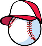 Baseballer Illustration Libre de Droits