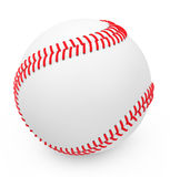 Baseballet Arkivfoto