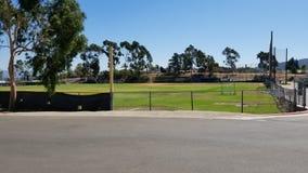 Baseballfält för hög skola royaltyfri foto