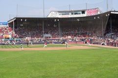 Baseballfält på Nat Bailey Stadium royaltyfri foto