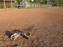 Baseballfeld. Stockfoto