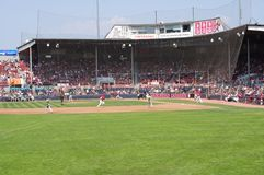 Baseballfeld bei Nat Bailey Stadium Lizenzfreies Stockfoto