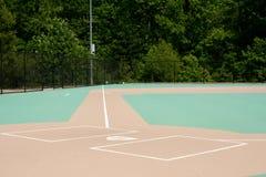 Baseballfeld für das behinderte Stockbild