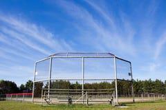 baseballfält Arkivfoto