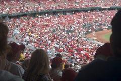 baseballfolkmassa arkivfoton