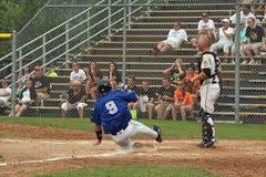 baseballhögstadium Royaltyfri Foto