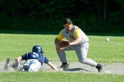 baseballhögstadium vermont Fotografering för Bildbyråer