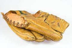 Baseballhandschuh. Stockbild