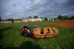 Baseballhandschuh Stockfoto