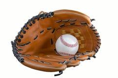 Baseballhandske 2 Arkivfoton