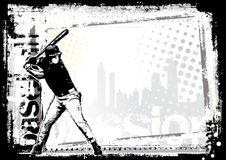 Baseballhintergrund 7 Lizenzfreies Stockbild