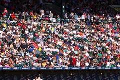 baseballi fan Obrazy Stock
