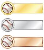 baseballi medale royalty ilustracja
