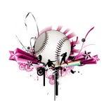 baseballillustrationvektor Royaltyfri Foto