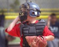 baseballista Fotografia Stock