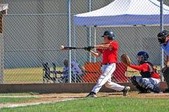 baseballkontakt Royaltyfria Bilder