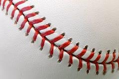 Baseballkugeldetail Stockfoto