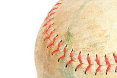 baseballl stitch Royalty Free Stock Photos