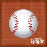 Baseballliga stock illustrationer