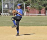 baseballliga little kanna arkivbilder
