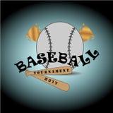 Baseballlogo arkivbild
