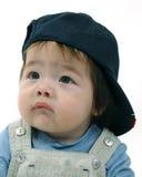 baseballmössamanliglitet barn arkivfoton