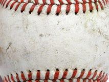 baseballmakro Royaltyfria Bilder
