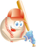 baseballmaskot Fotografering för Bildbyråer