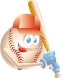 Baseballmaskottchen Stockbild