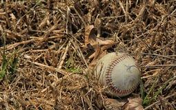 Baseballogräs fotografering för bildbyråer