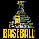 baseballoklarhetsord Royaltyfria Foton
