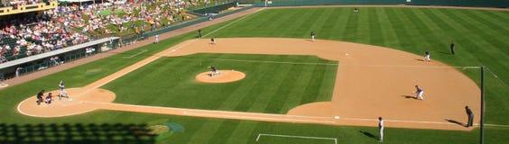 baseballpitch royaltyfri bild