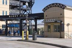 baseballpittsburgh stadion fotografering för bildbyråer