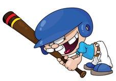 baseballpojke royaltyfri illustrationer