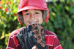 Baseballpojke Royaltyfri Bild