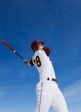 Baseballpraxis Lizenzfreie Stockfotografie