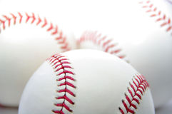 Baseballs Stock Afbeeldingen