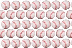 Baseballs Royalty-vrije Stock Afbeeldingen