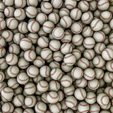 Baseballs background Royalty Free Stock Photography