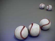Baseballs. Ready for play  in studio Royalty Free Stock Photo