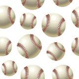 Baseballs Seamless pattern. Stock Image
