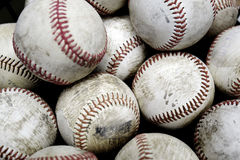 Baseballs Sports Pile Past Time American Fun Royalty Free Stock Photography