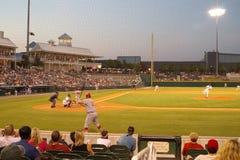 Baseballspiel lizenzfreie stockfotografie